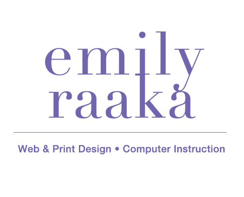 Emily Raaka Web Design